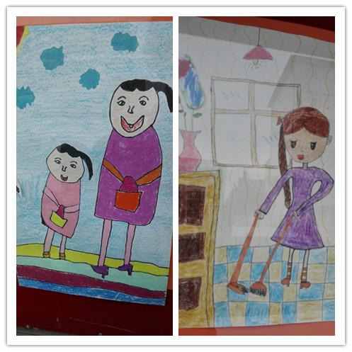 """新曙光小学""""我是生活小主人""""美术绘画比赛"""