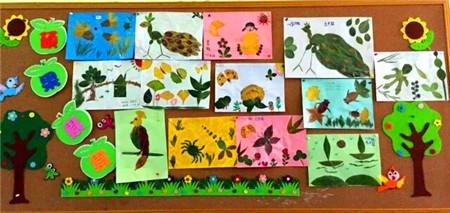 树叶孔雀手工制作图片